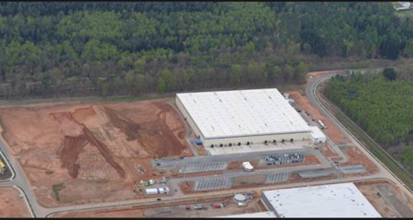 New warehouse for Michelin tyres in the 'Am Zunderbaum' industrial area