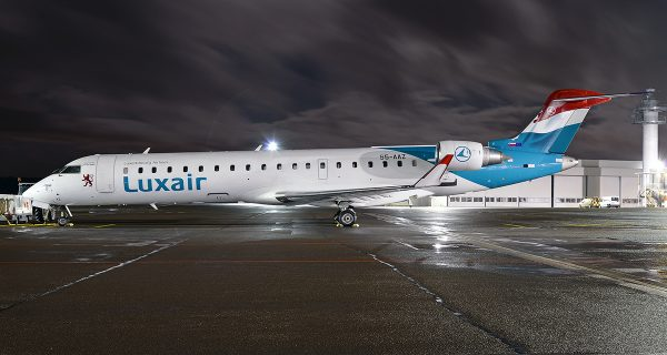 Luxair Luxembourg Airlines reliant Sarrebruck à la capitale allemande