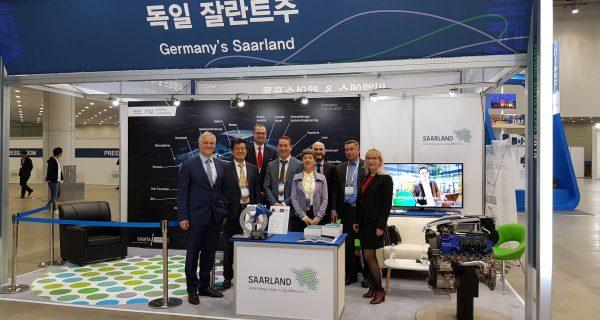 Saar-Delegation auf Gegenbesuch in Korea
