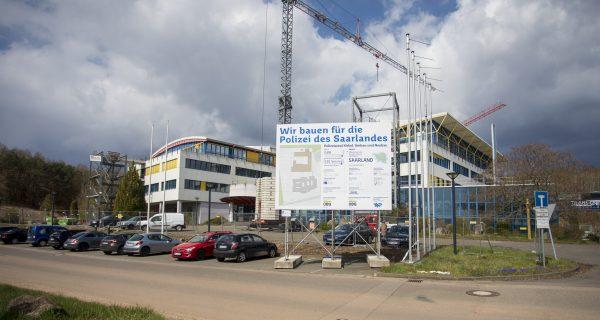 SHS steuert Entstehung des Polizeiareals in Kirkel