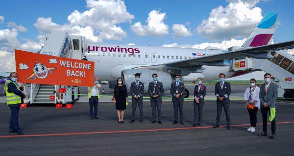 Eurowings fliegt wieder ab dem SCN